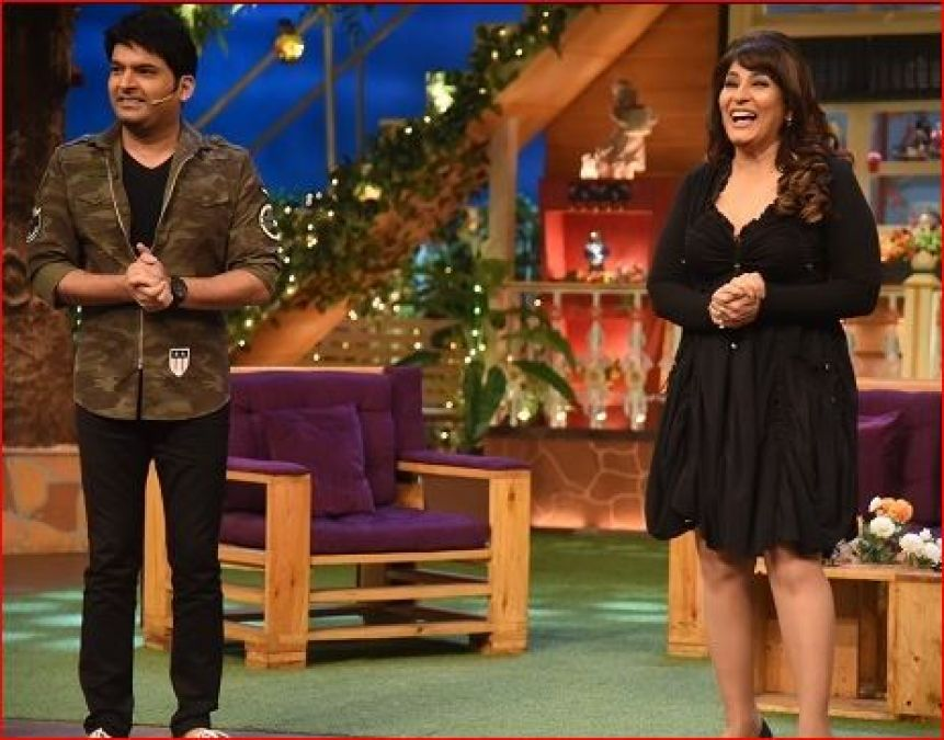 Archana shared a  video from the set of 'Kapil Sharma Show', Kapil was seen singing!