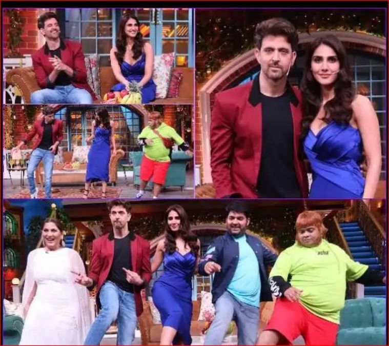 These stars reached the 'Kapil Sharma Show' to promote their movie 'War'