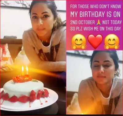 Photo: Hina Khan's Pre-birthday celebration beings, numerous cakes sent by fans
