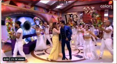 Salman Khan dances with Madhuri Dixit in 'Bigg Boss 13' house, watch video