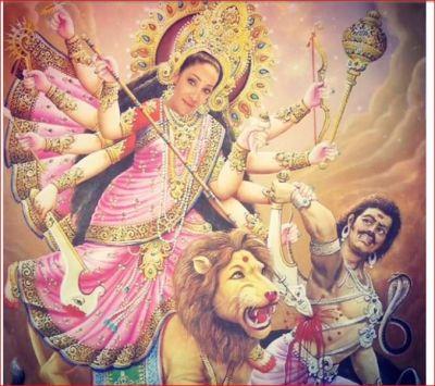 In the video of Maa Durga, this actress put her photo, said- 'Main Durga, Kali...'