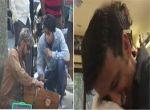 Video: भीख में 12 रुपए देने वाले शख्स से गले मिले सिंगर सोनू निगम