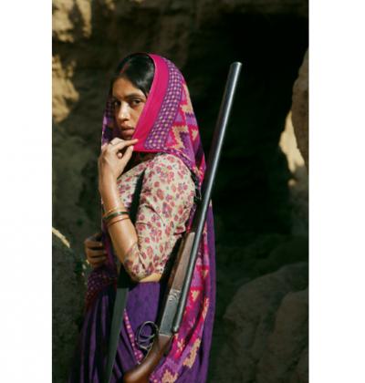 Bhumi Pednekar's first look from Son Chiriya