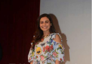 Rani Mukerji donned in a floral print for an event, have a look