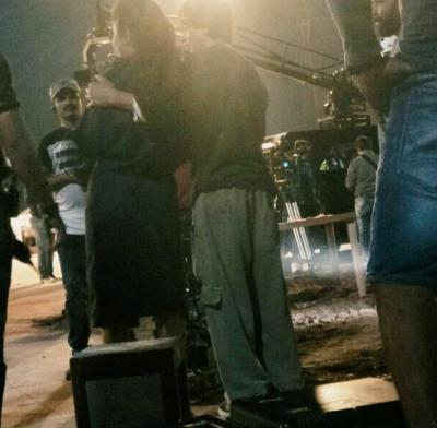 Shahrukh Khan and Katrina Kaif captured on the sets of 'Zero'