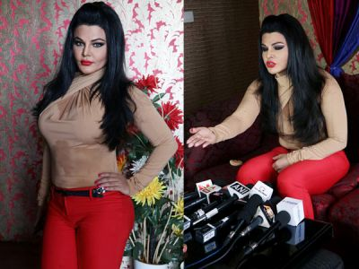 Shocking video of Rakhi Sawant: Valmiki supporters wanted to rape her