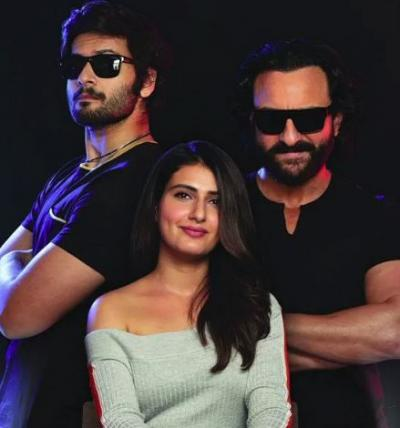 Saif Ali Khan, Fatima Sana Shaikh and Ali Fazal collaborate forBhoot Police