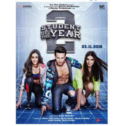 Kickass poster of 'Student of the Year 2' have a look