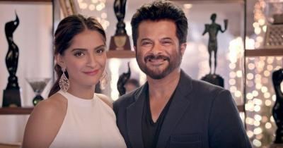 Sonam Kapoor shares her pic along with her dapper dad Anil Kapoor, see picture