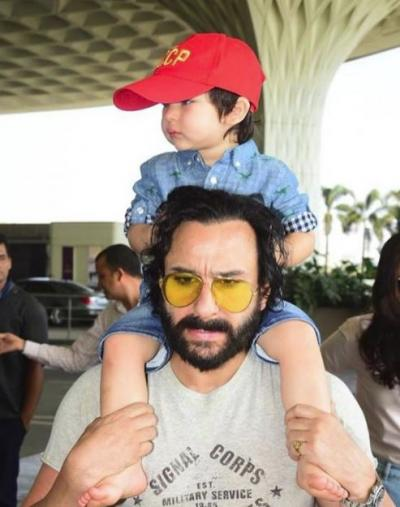 'Bass Karo, Bachcha Andha Ho Jaayega' Saif Ali Khan shouts on paparazzi for clicking Taimur?