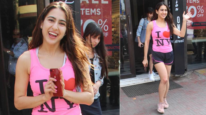 Sara Ali Khan's latest video will give you holiday vibes