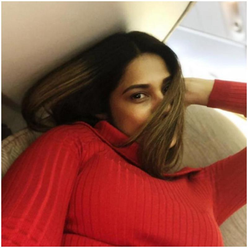Jennifer Winget enjoys vacation with her furry friends, check out the picture here
