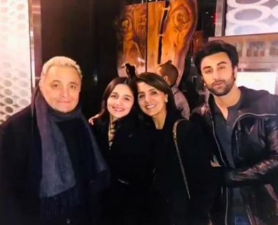 Ranbir Kapoor and his family members bring in loads of positivity in me: Alia Bhatt