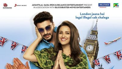 Parineeti and Arjun's chemistry seen in the new poster of Namaste England