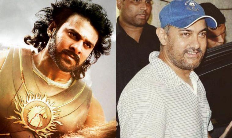 Amir Khan approaches Bahubali actor Prabhas for Rs.1000 crores budget film Mahabharat