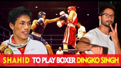Shahid Kapoor to play a role of Boxer in Dingko Singh Biopic