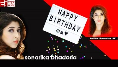 Actress Sonarika Bhadoria celebrates her birthday on December 3