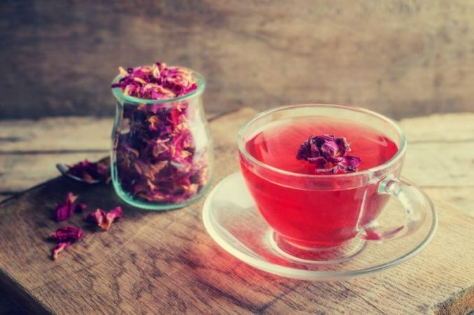 Rose water will help to reduce weight