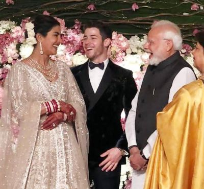 Photos: Priyanka Chopra Nick Jonas Wedding: On PM Narendra Modi's warm wish PeeCee says This
