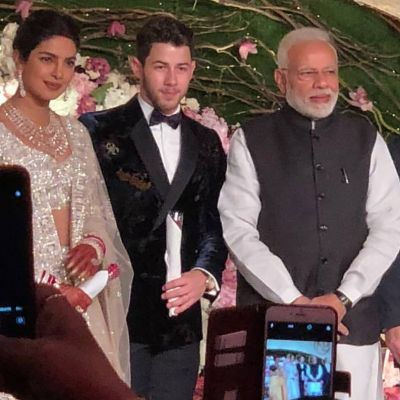PM Modi Joins the Priyanka Chopra, Nick Jonas' Delhi Wedding Reception held in Delhi : See Pics