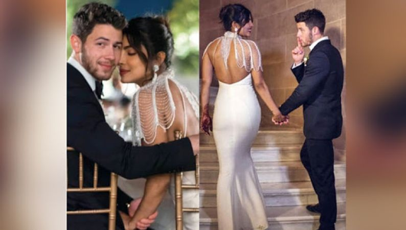 See New pics:  Priyanka Chopra & Nick Jonas Christain Wedding photos spread the magic of love