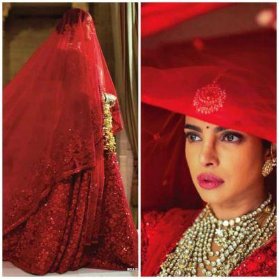 Pics: When Priyanka Chopra says Laal Dupatta Ud Gaya Re .., from her Hindu wedding ceremony