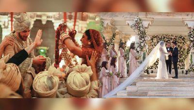 Priyanka Chopra and Nick Jonas Wedding New INSIDE PICTURES from  both wedding festivities