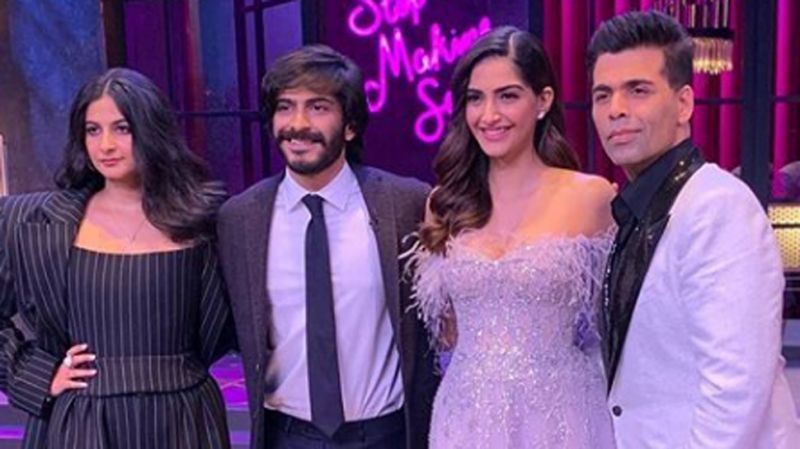 See pic Koffee With Karan 6: Sonam Kapoor and siblings Harshvardhan Kapoor and Rhea Kapoor grace the couch