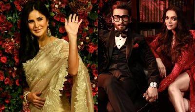 Katrina Kaif opens up about attending Deepika Padukone and Ranveer Singh's Mumbai wedding reception