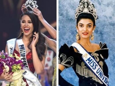 Sushmita Sen congratulates Miss Universe 2018  stunning & well-spoken winner  Catriona Gray with a special message