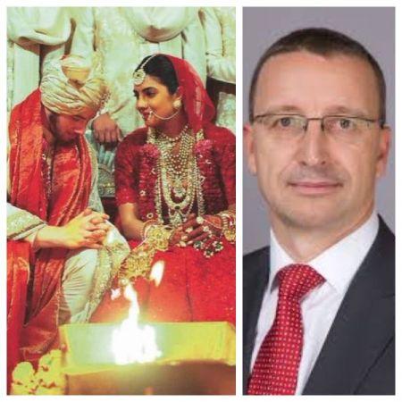 The truth behind  Martin Schwenk - the man who mistaken clicked  being Priyanka Chopra and Nick Jonas' wedding guest