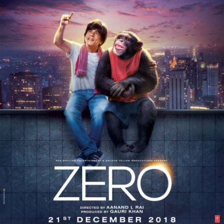 ZERO New poster out: SRK introduces  Bauua Singh's travel partner to space