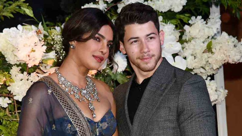 Much awaited pics out -Priyanka Chopra, Nick Jonas look royal at their second reception