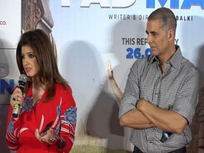 Akshay wasn't the first choice for 'PadMan: Twinkle