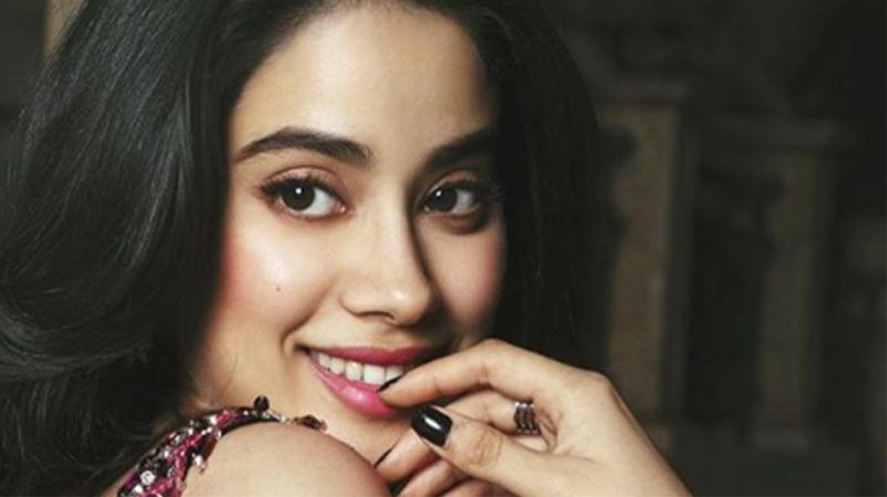 Janhvi Kapoor's most rent Instagram post is high on galm and glamour