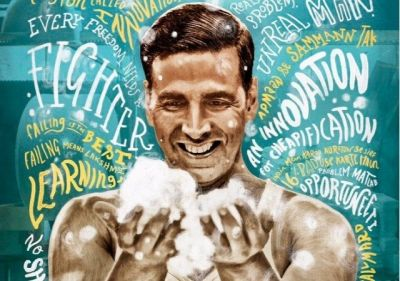 Akshay Kumar new poster from Padman aired