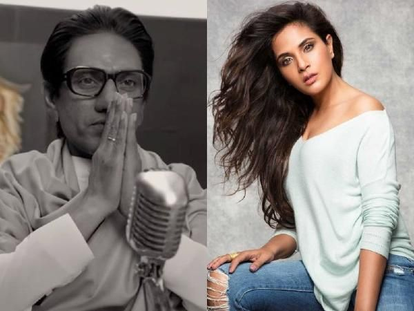 Richa Chadha corners Nawazuddin Siddiqui for doing Thackeray biopic dubbing  him bipolar