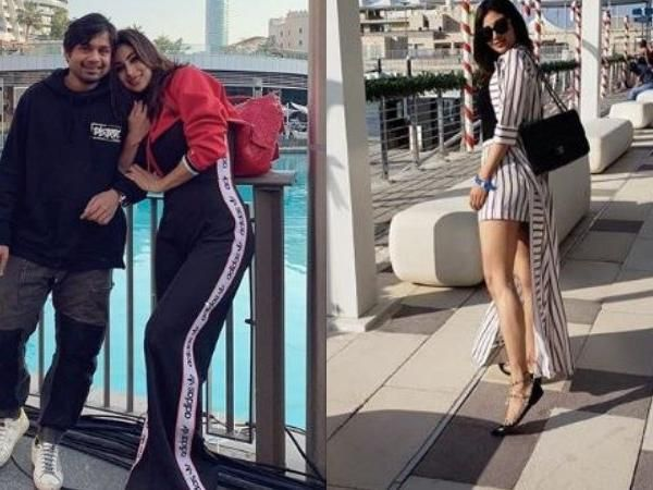 Mouni Roy taking  Dubai by storm with her friends on holidays looks  stunning - See pics