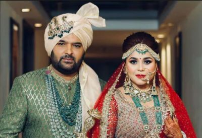Check out the videos from Kapil Sharma and Ginni Chatrath  Delhi reception