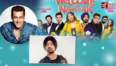 Diljit Dosanjh: Salman Khan is the new member of 'Welcome To New York'
