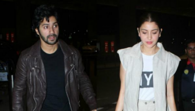 Varun Dhawan and Anushka Sharma started shooting for Sui Dhaaga