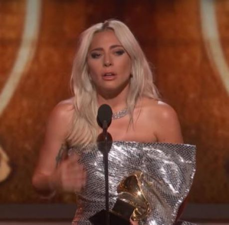 Lady Gaga opens up on  mental health problems while accepting the Grammy Award