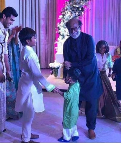 Watch Superstar Rajinikanth dancing at daughter Soundarya's wedding,  check out the video here