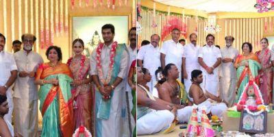 Soundarya Rajinikanth and Vishagan Vanangamudi Wedding: latest photos of couple and guests goes viral, see photos