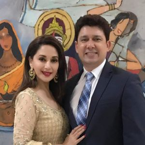 Madhuri Dixit Nene has wished her husband in most adorable way