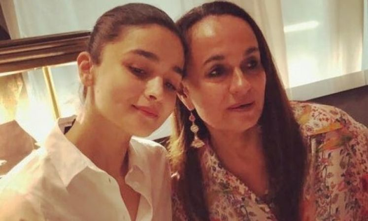 Alia Bhatt's mother Soni Razdan  all praises to her lovely daughter,check out the tweet here