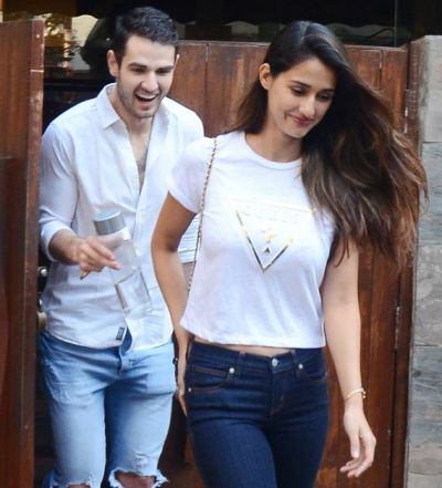 Not Tiger Shroff, Disha Patani spotted with this mystery man on Valentine's Day, know who it is