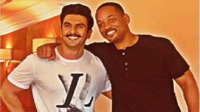 'I am loving it man' Will Smith praises Ranveer Singh's Gully Boy,watch video here