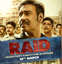 Raid New Poster proves Heroes don't come in uniform