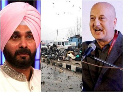 'Rubbish' Anupam Kher slams Navjot Singh Sidhu for remarks on the Pulwama attack
